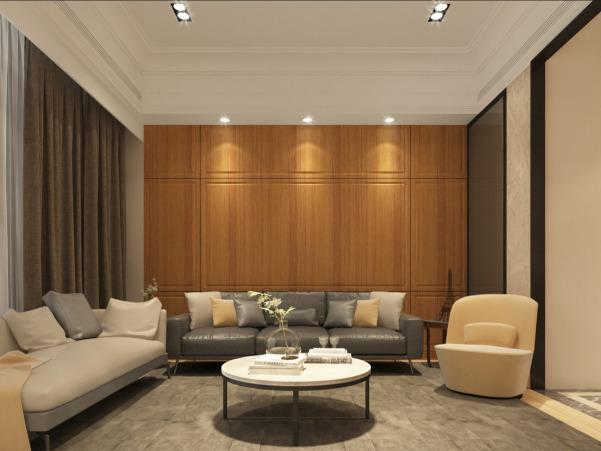 02-客廳看沙發背牆